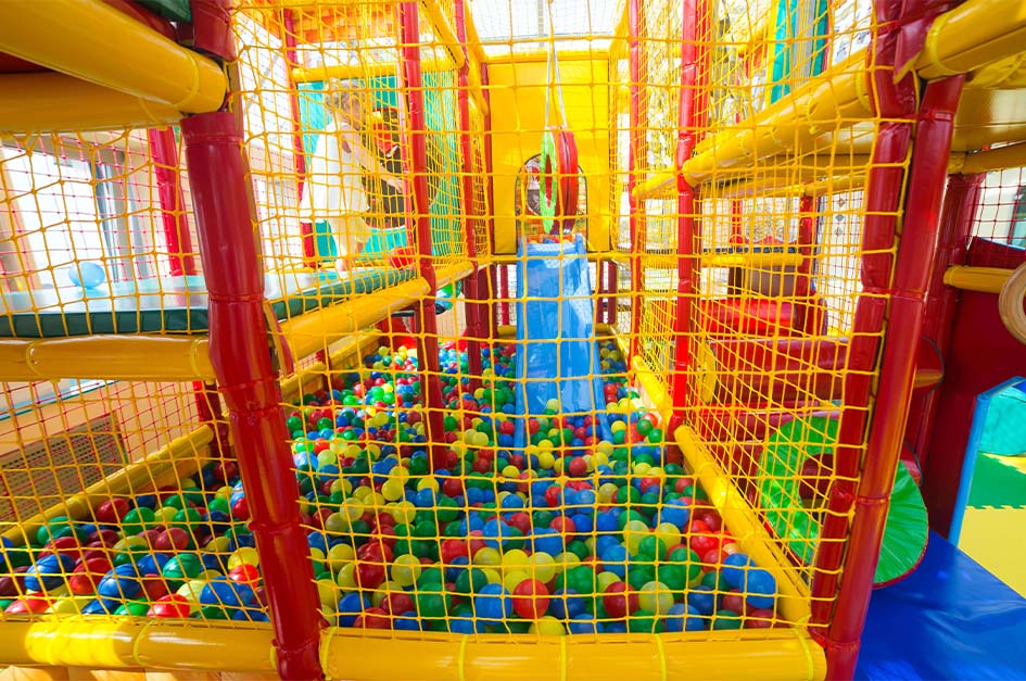 Children's soft play area