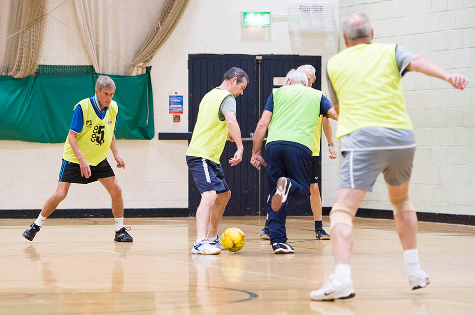 Walking football game