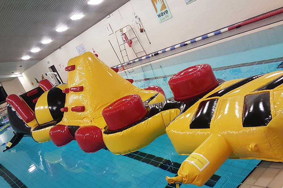 Giant pool inflatable
