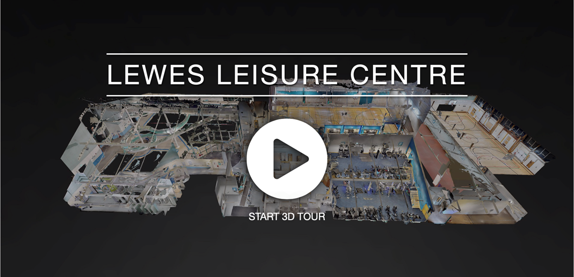 Lewes Leisure Centre 3D Tour