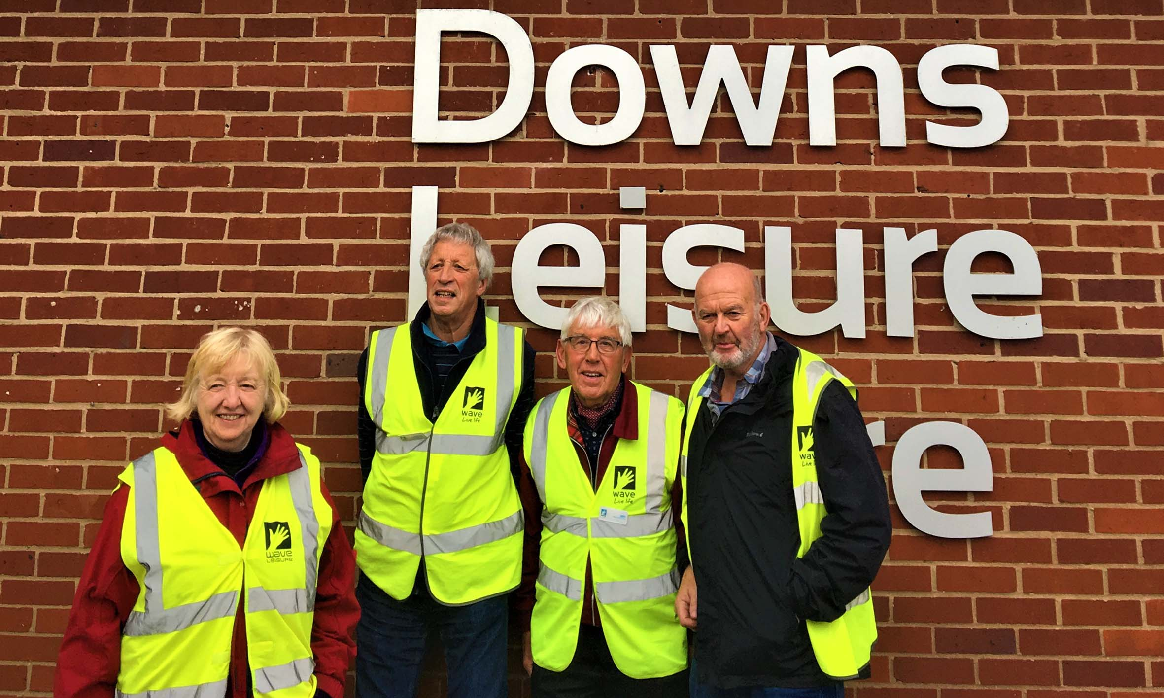 Walk Leaders at Downs Leisure Centre