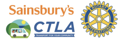 sainsburys, CTLA and Rotary Logo
