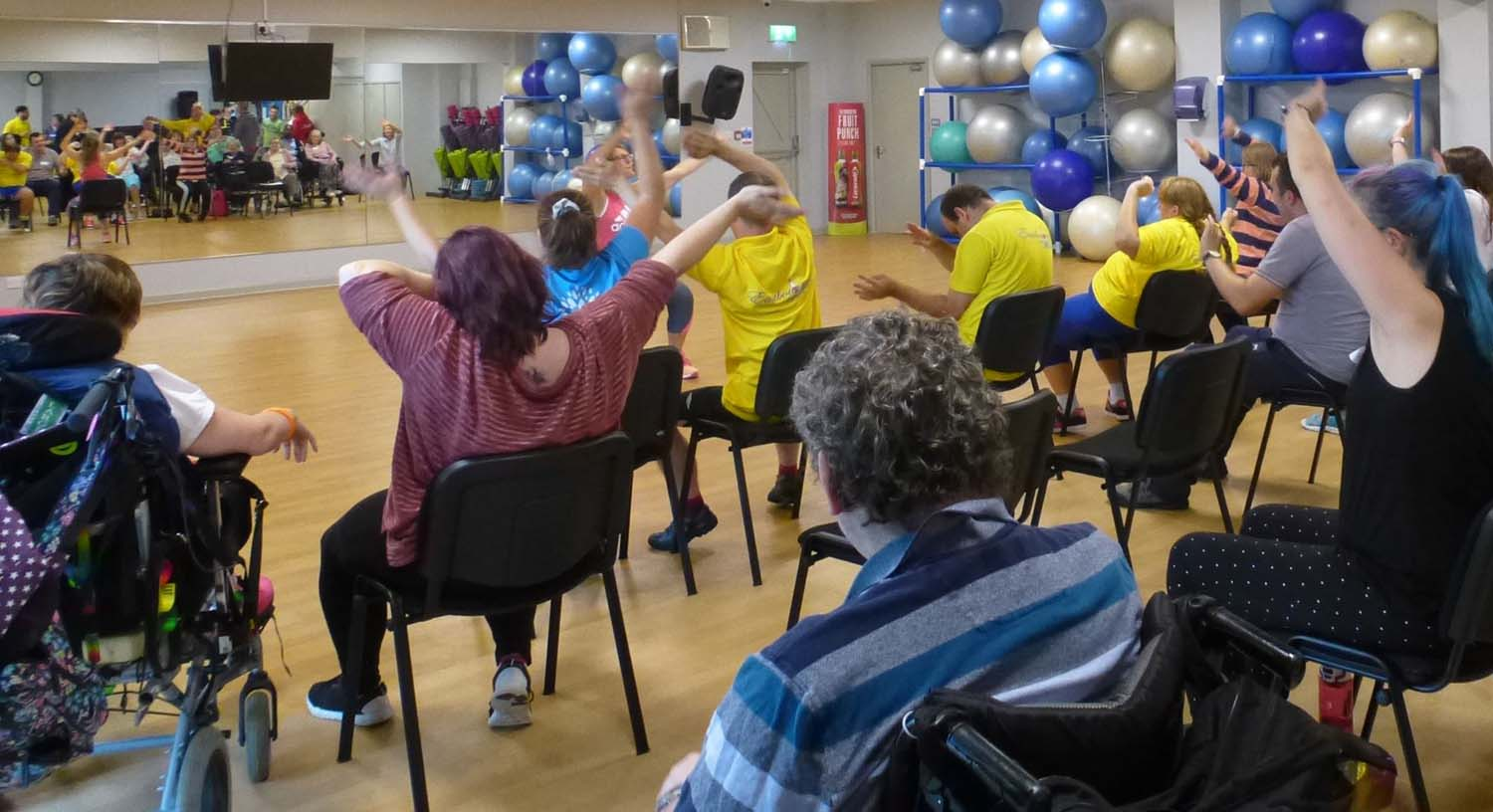 chair based exercise class
