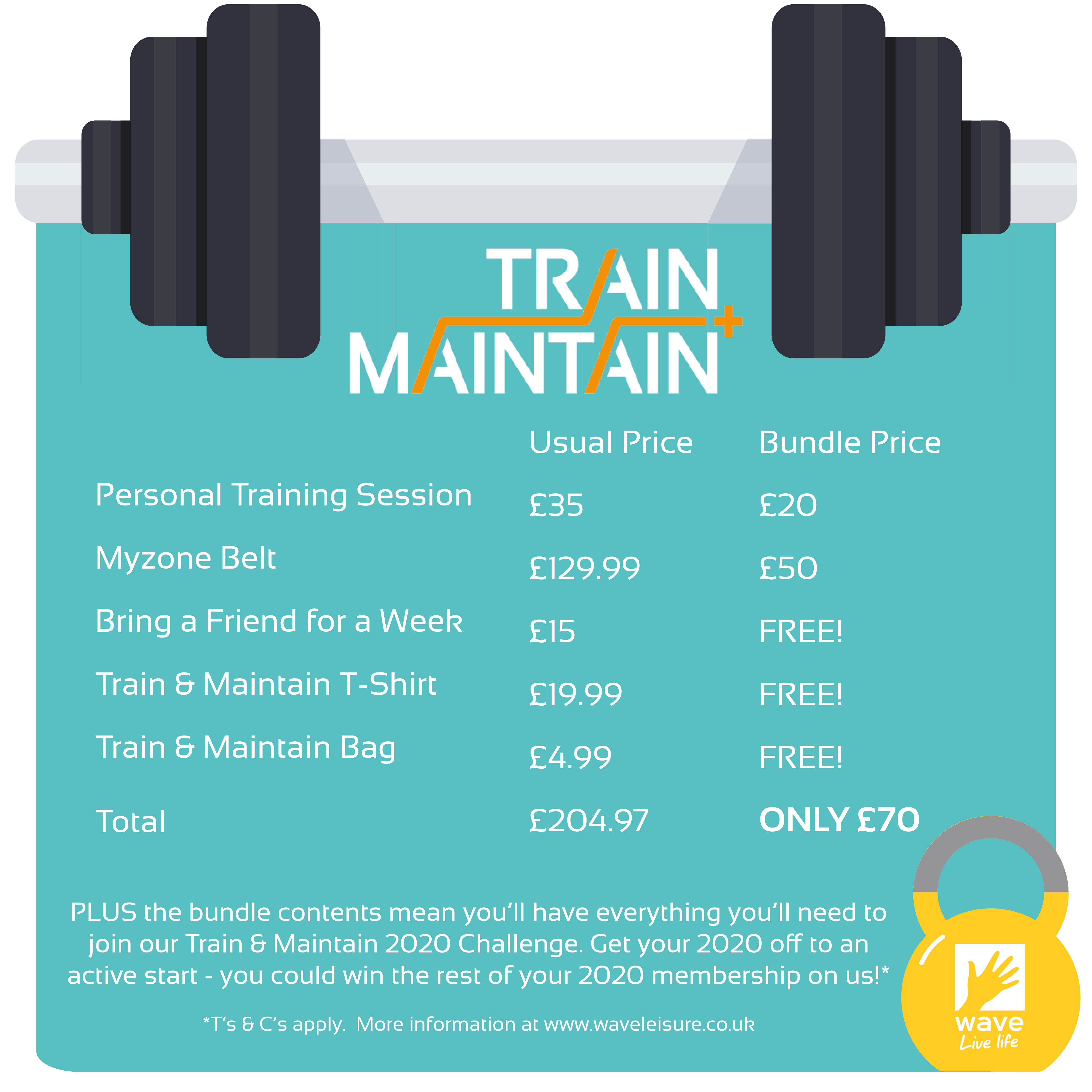 train and maintain bundle package
